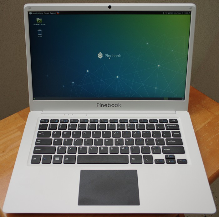 pinebook front